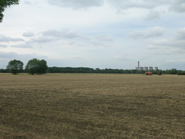 Farmland off Balne Moor Road