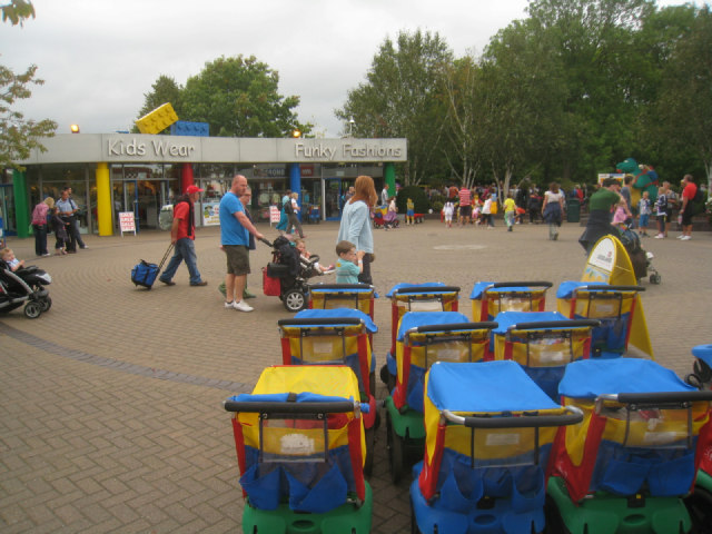 Entrance forecourt - Legoland