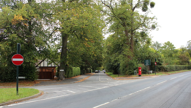 Brockhill Road junction, Colwall