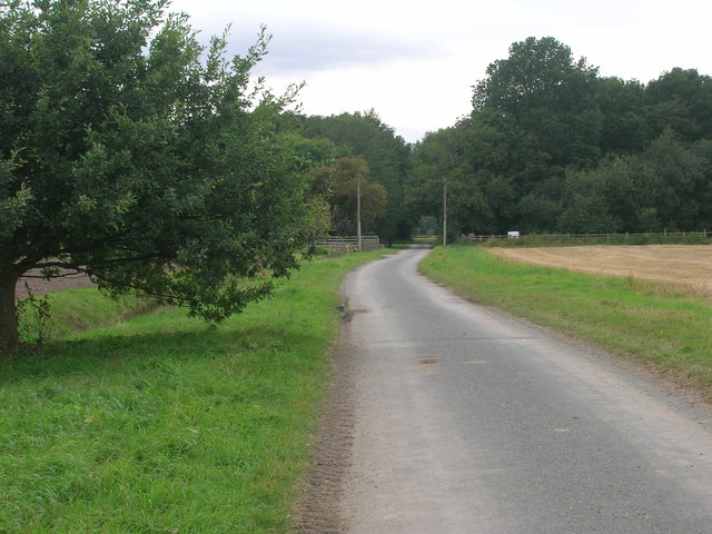 Toadham Lane heading west