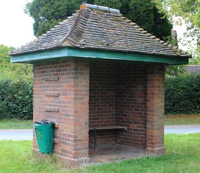 Mathon Turn bus shelter, Colwall