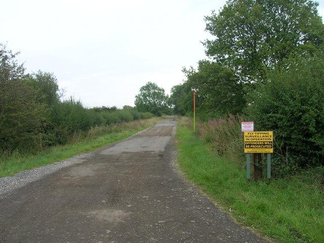 Track to Stubbs Grange