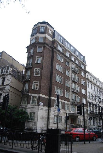 Apartment block, Lancaster Terrace