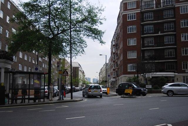 Gloucester Terrace off Lancaster Terrace