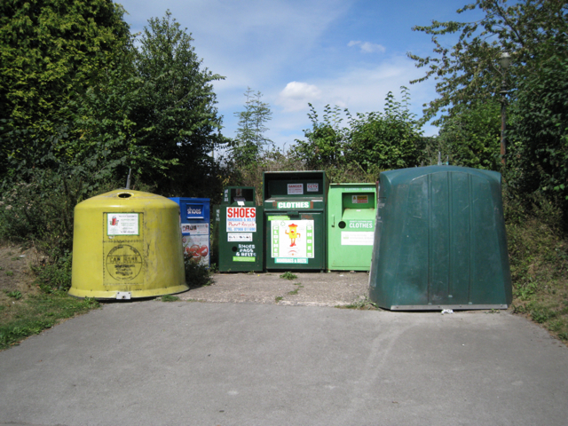 Recycling centre, Old Road, Meriden