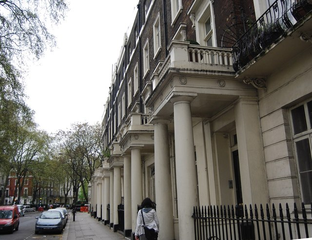 A Terraced row, Sussex Gardens