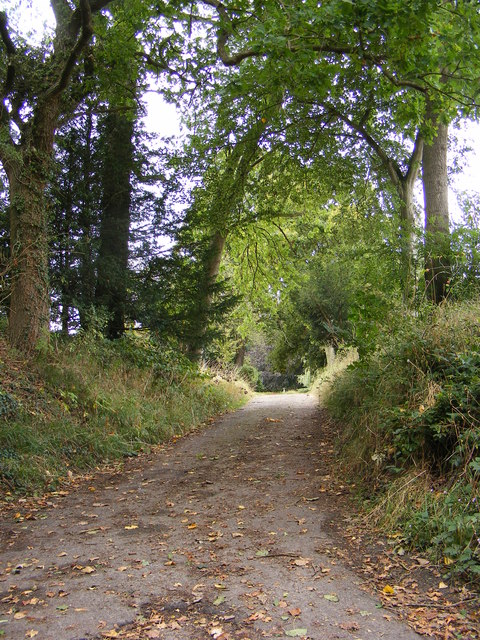 The Entrance to Wood Farm