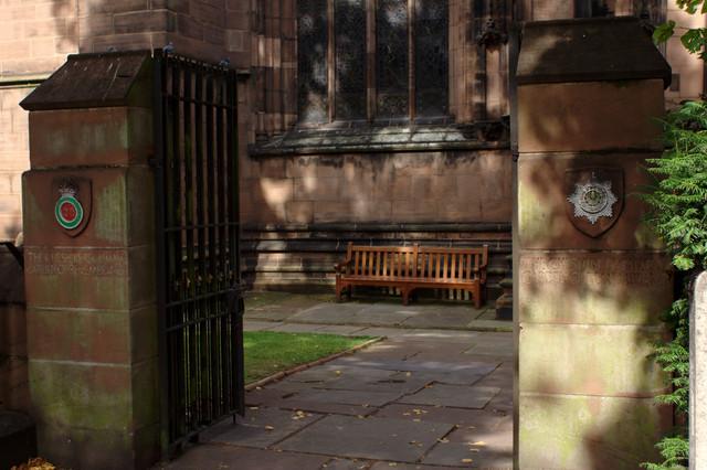 Entrance Gate, Cheshire Regiment Garden of Remembrance