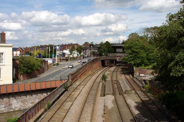 Railway Line and Raymond Street