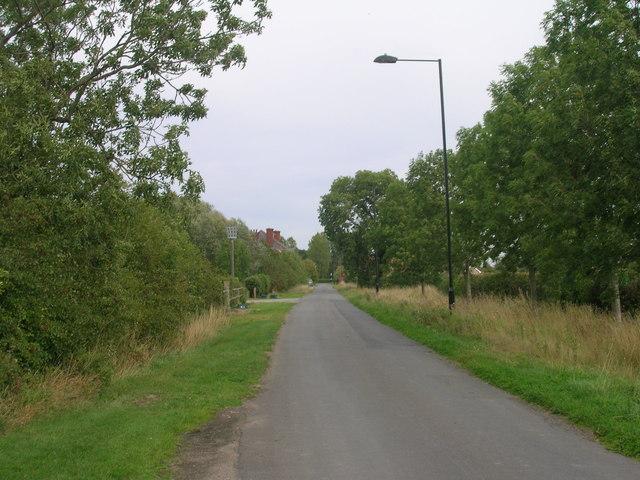 Fenwick Lane heading east