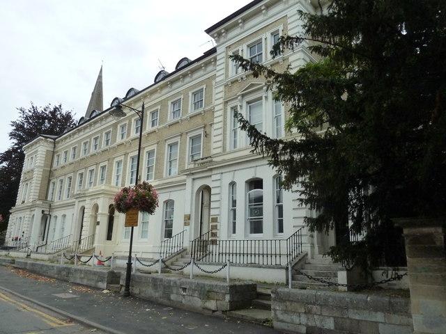 Elegant houses in Church Square