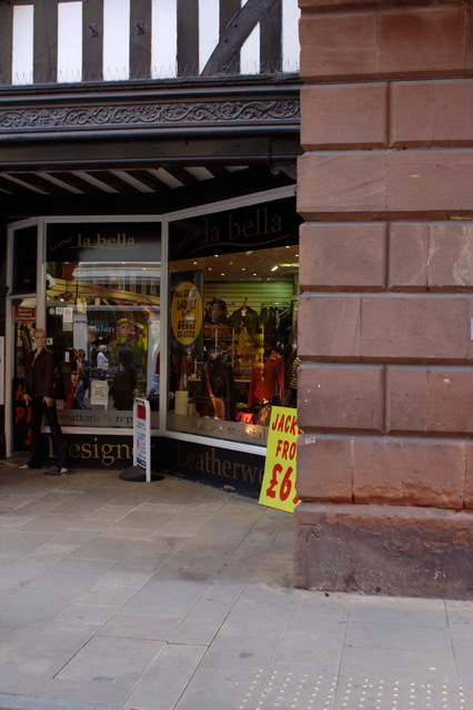 Stone Arch and Shop Front, Eastgate