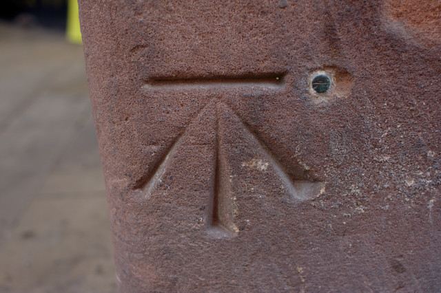 Bolt Bench Mark, Eastgate