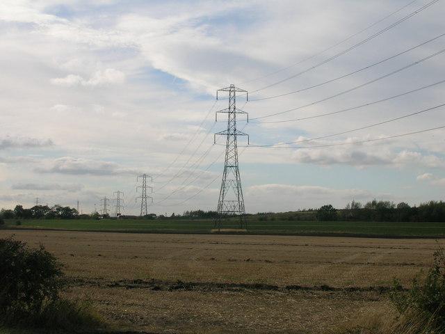 Farmland off the A19