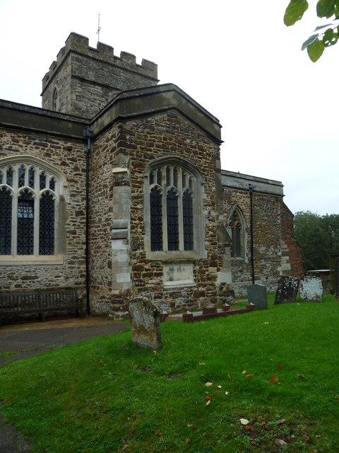 St Luke's Church Stoke Hammond in September, 2011