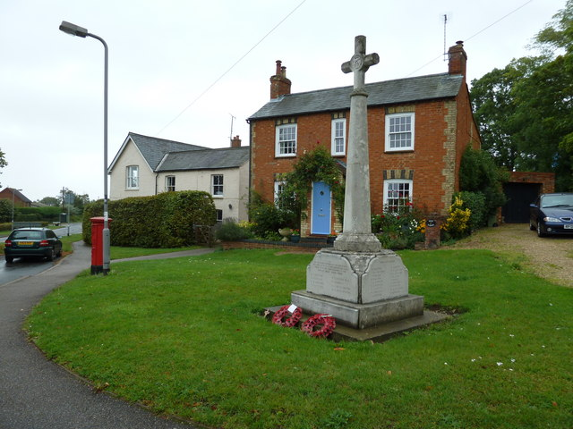 War Memorial, Bow Brickhill