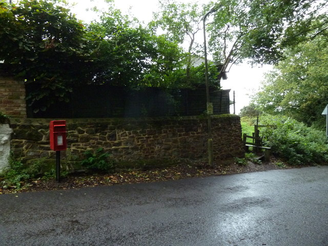 Postbox in Church Lane