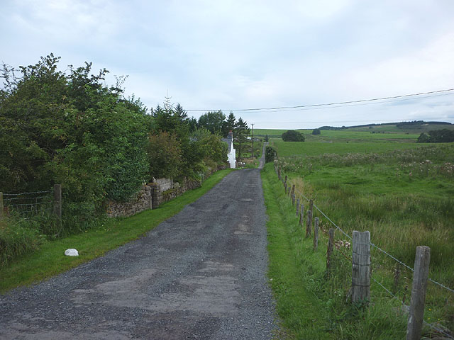 The lane to Barron House near Gilsland
