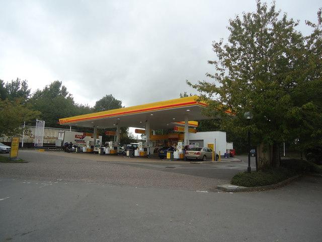 Petrol station, Horton Cross services, Ilminster