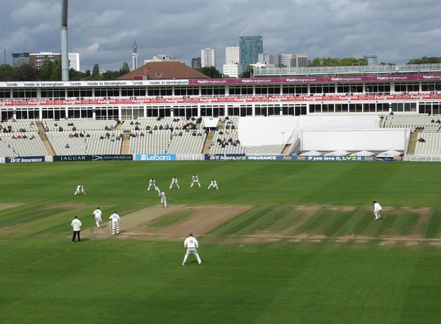Edgbaston Cricket Ground: view from the new pavilion