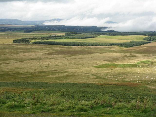 The Midlothian plain