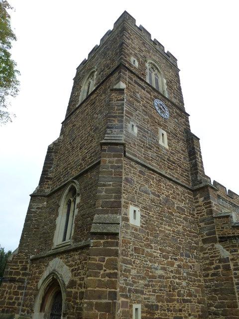 Church End- St. John the Baptist, Eversholt: tower