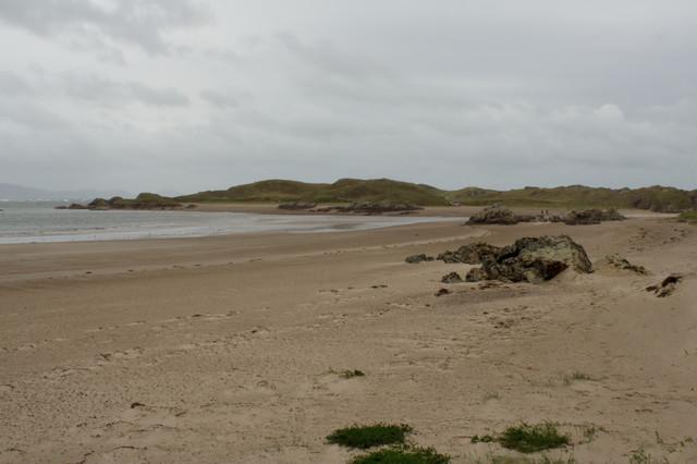 Llanddwyn Island from the Beach