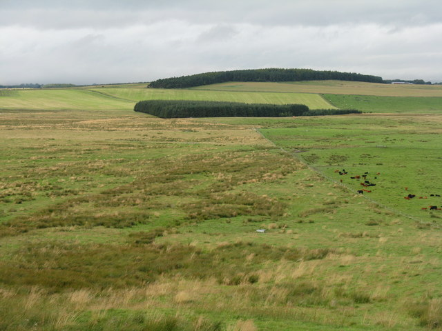 Looking northwest from the Moorfoot Hills