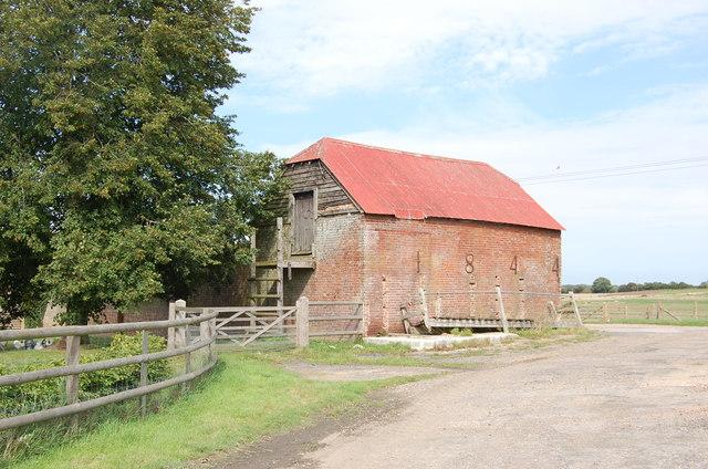 1844 Farm Building