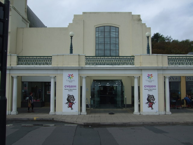Entrance to 2011 Commonwealth Youth Games Operations Centre