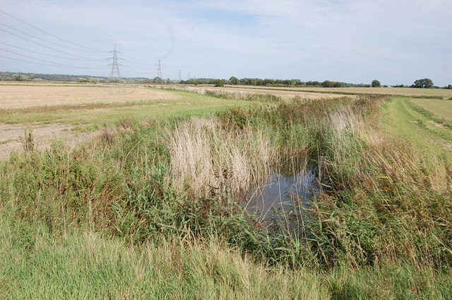 Drain on Rother Levels