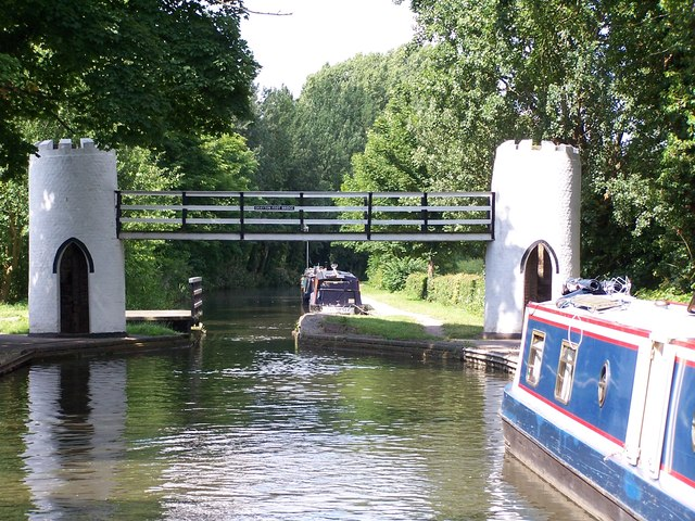 Drayton Foot Bridge, Birmingham and Fazeley Canal