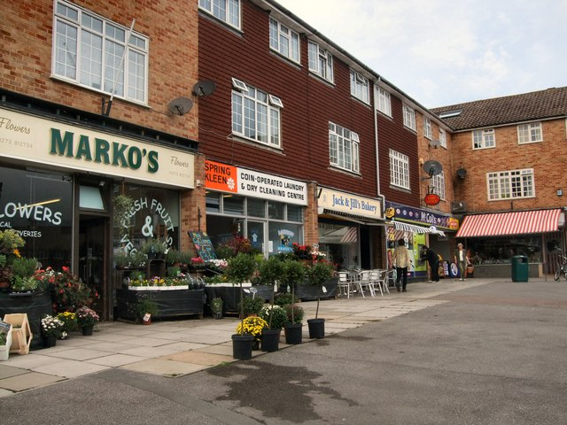 Shops in Springett Avenue