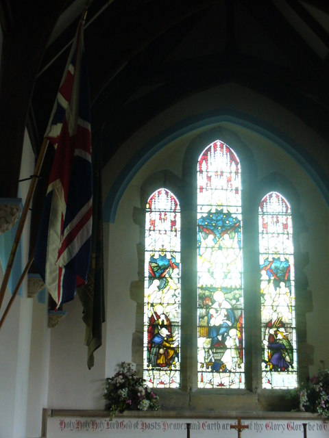 East Window, Plaistow Church