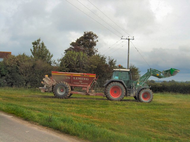 Spreader at Gote Farm