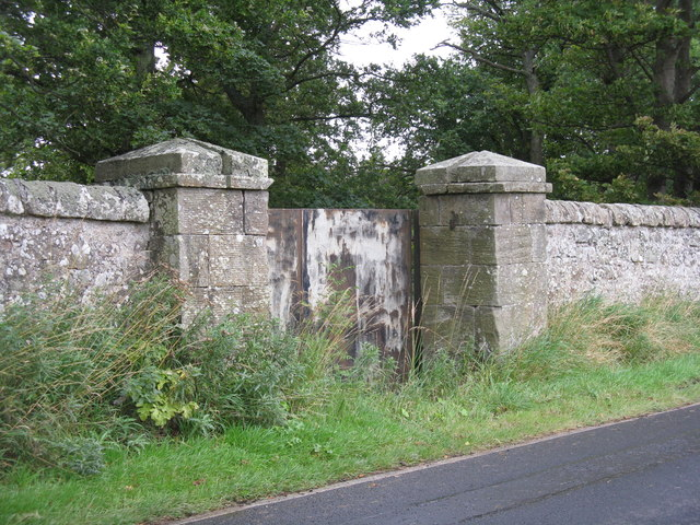 Middleton Hall boundary wall
