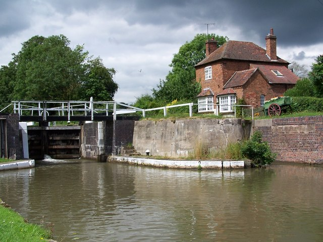 Hatton Top Lock, Grand Union Canal