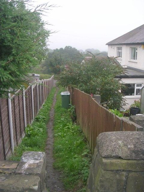 Footpath - Layton Lane