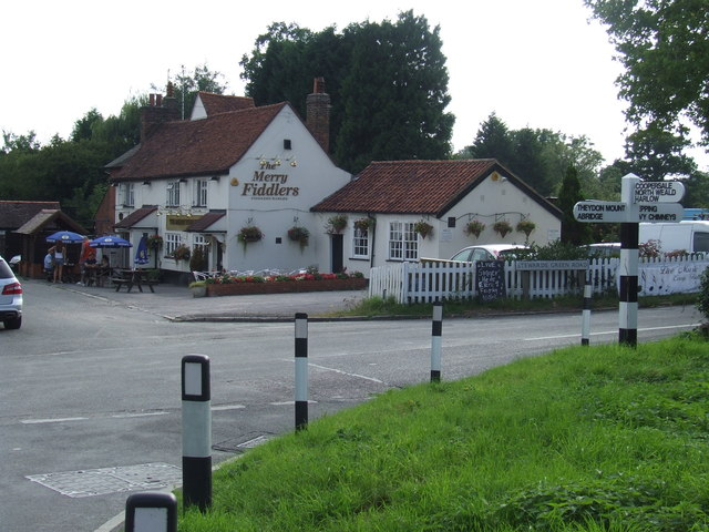 The Merry Fiddlers, Fiddlers Hamlet near Epping