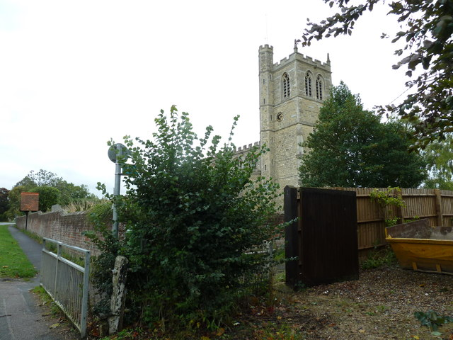 SS Peter & Paul, Wingrave as seen from Leighton Road