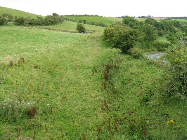 The Waverley Line at Borthwick
