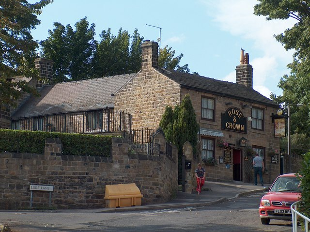 """""""The Rose and Crown"""", Wadsley, Sheffield"""