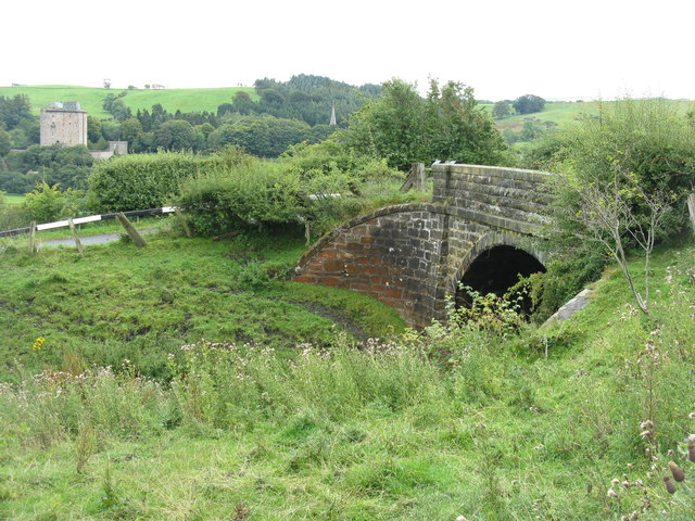 Bridge over the Waveley Line