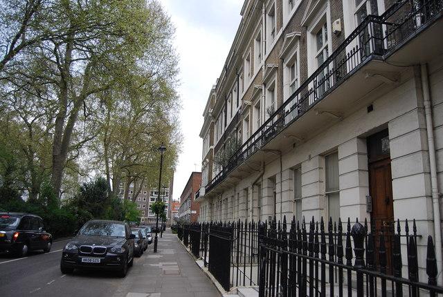 Terraced houses, Hyde Park Place