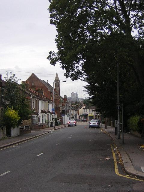 Grange Road, Thornton Heath: south end