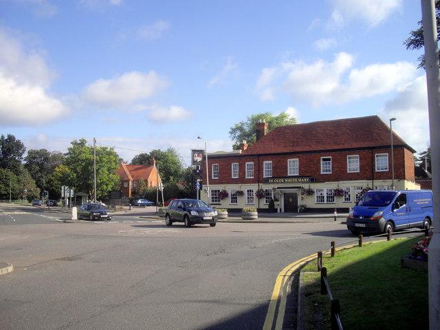 Ye Olde White Hart Public House Frimley