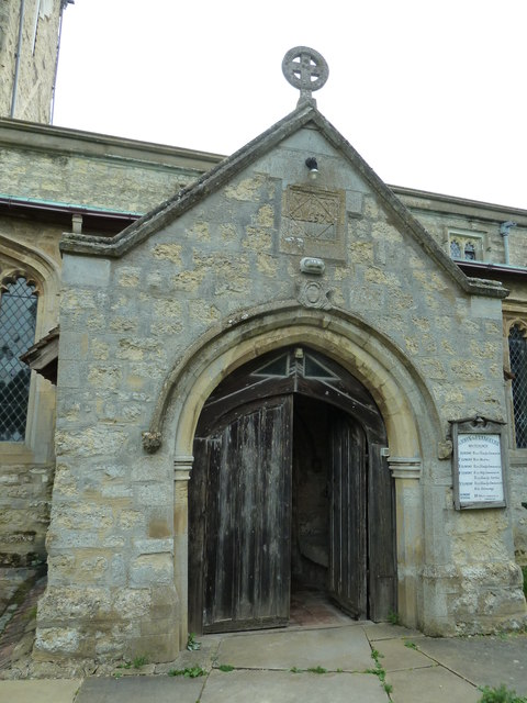 Church porch at St John the Evangelist