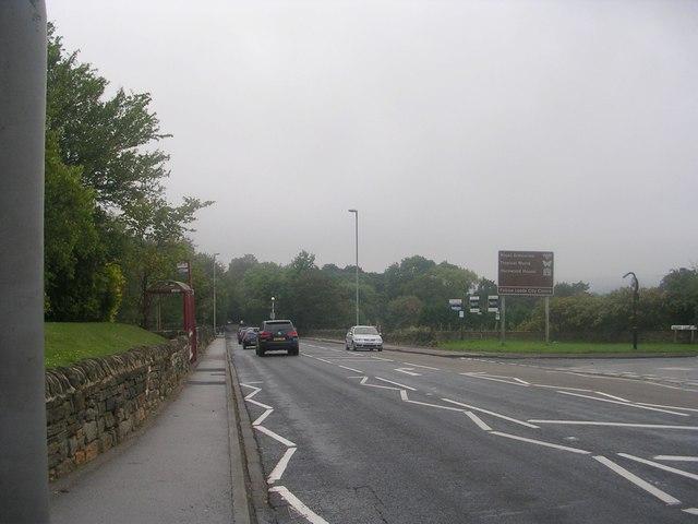 Leeds Road - viewed from Layton Lane