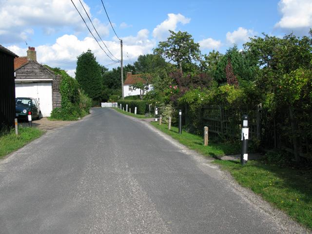 View along Butler's Hill, Dargate