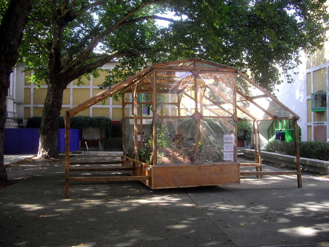 Mobile Picnic Pavilion, in grounds of Tate Britain